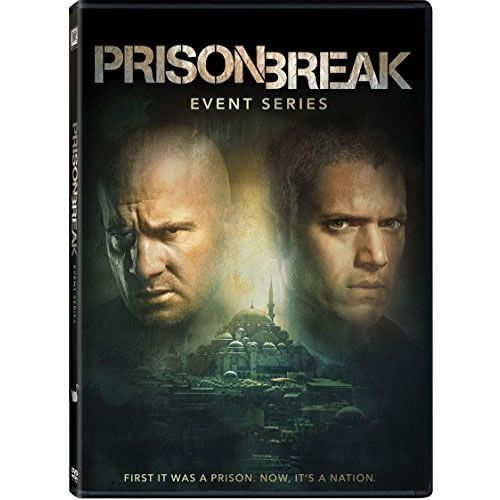 Prison Break - The Complete Season 5 Event Series DVD (for NZ Buyers)