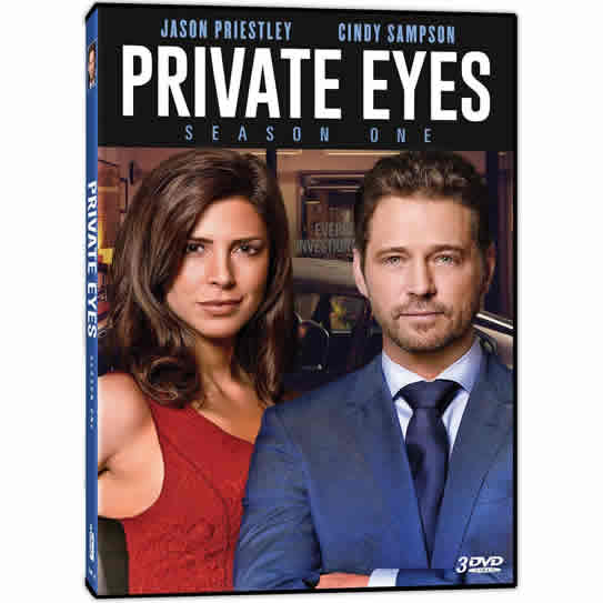 Private Eyes - The Complete Season 1 DVD (for NZ Buyers)