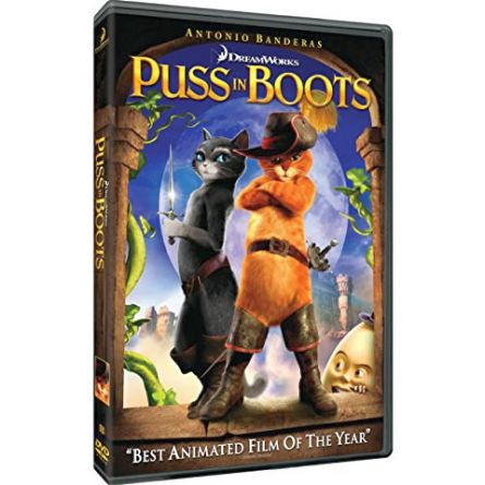 Puss in Boots: Animate DVD (for NZ Buyers)