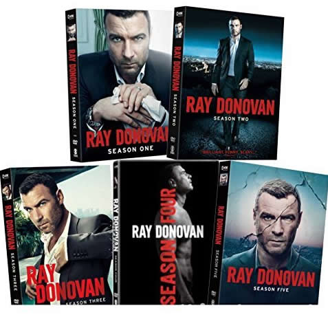 Ray Donovan: The Complete Series 1-5 (for NZ Buyers)