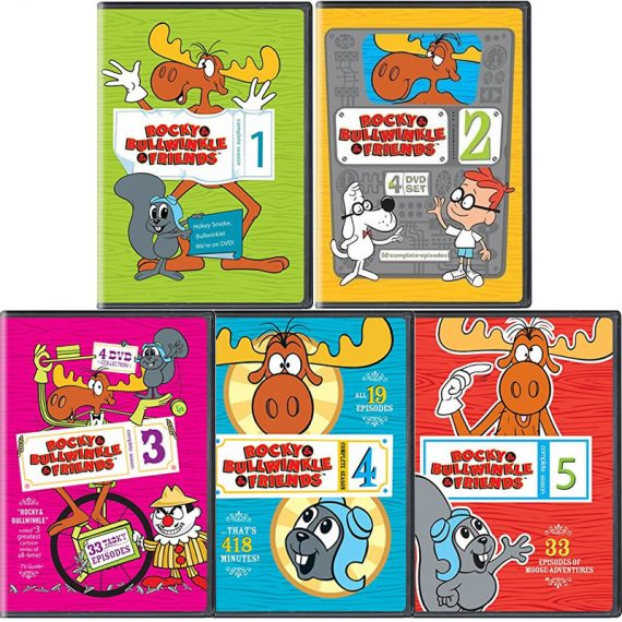 Rocky & Bullwinkle & Friends Seasons 1-5: Animate DVD (for NZ Buyers)