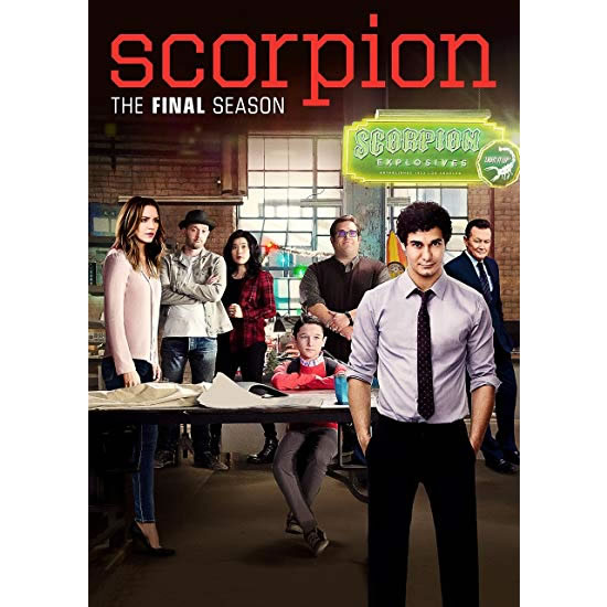 Scorpion - The Complete Season 4 DVD (for NZ Buyers)