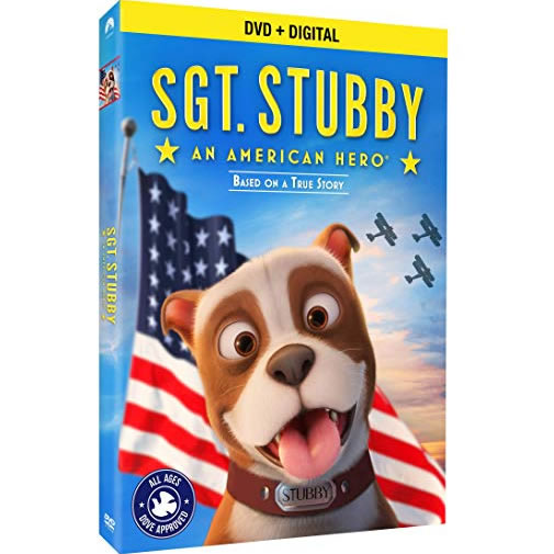 Sgt. Stubby: An American Hero: Animate DVD (for NZ Buyers)