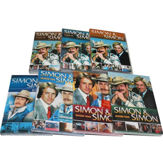 Simon & Simon: The Complete Series 1-7 (for NZ Buyers)