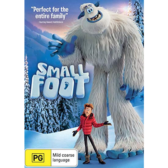 Smallfoot: Animate DVD (for NZ Buyers)