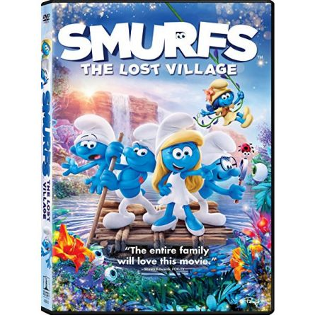 Smurfs: The Lost Village: Animate DVD (for NZ Buyers)