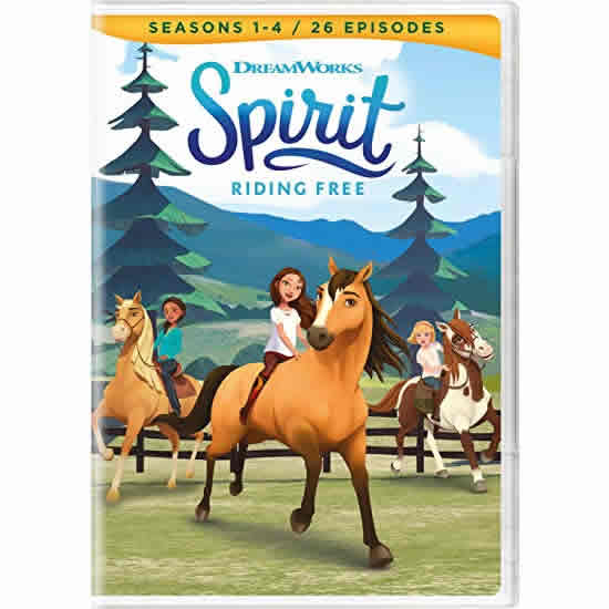 Spirit: Riding Free Seasons 1-4: Animate DVD (for NZ Buyers)