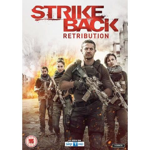 Strike Back - The Complete Season 5 Retribution DVD (for NZ Buyers)