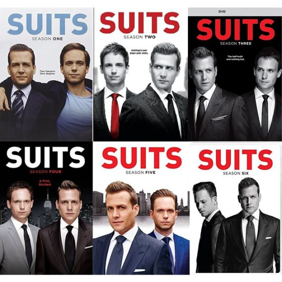 Suits: The Complete Series 1-6 (for NZ Buyers)