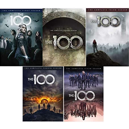 The 100: The Complete Series 1-5 (for NZ Buyers)