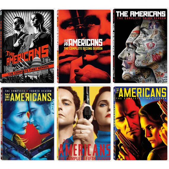 The Americans: The Complete Series 1-6 (for NZ Buyers)