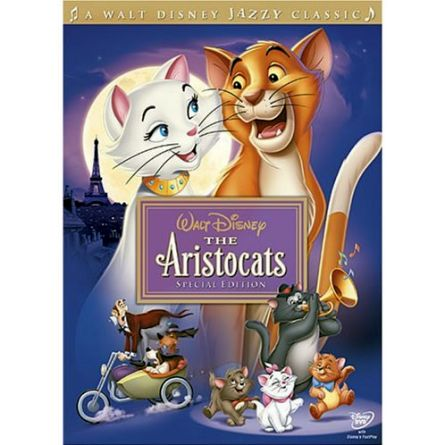 The Aristocats: Animate DVD (for NZ Buyers)