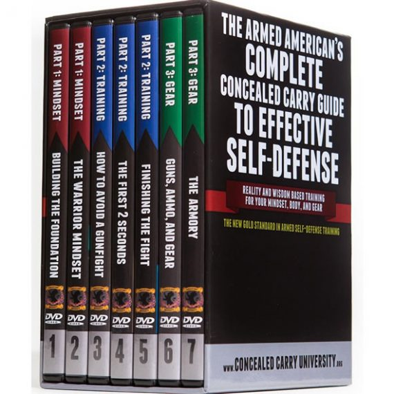 The Armed American's Complete Concealed Carry Guide DVD (for NZ Buyers)