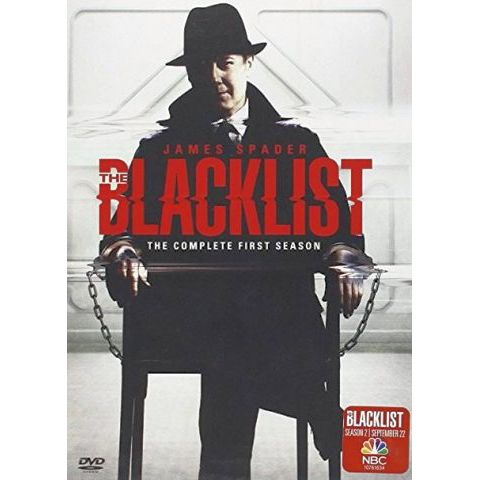 The Blacklist - The Complete Season 1 DVD (for NZ Buyers)