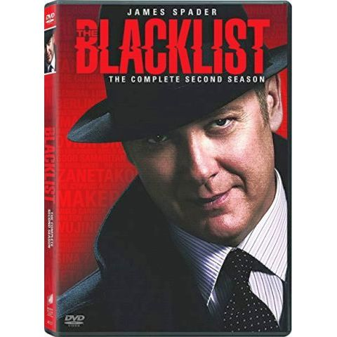 The Blacklist - The Complete Season 2 DVD (for NZ Buyers)