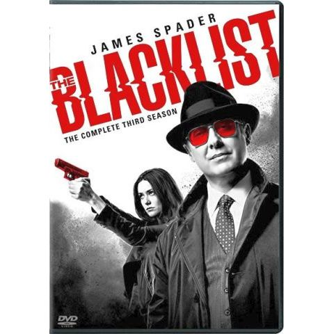 The Blacklist - The Complete Season 3 DVD (for NZ Buyers)