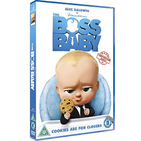 The Boss Baby: Animate DVD (for NZ Buyers)