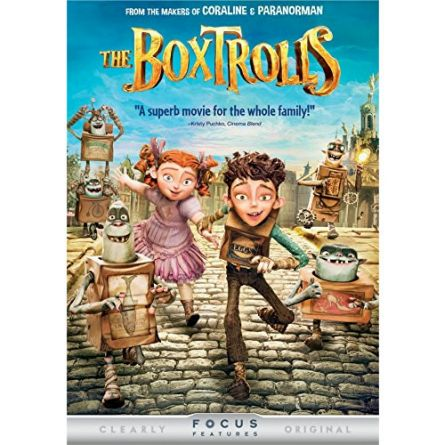 The Boxtrolls: Animate DVD (for NZ Buyers)