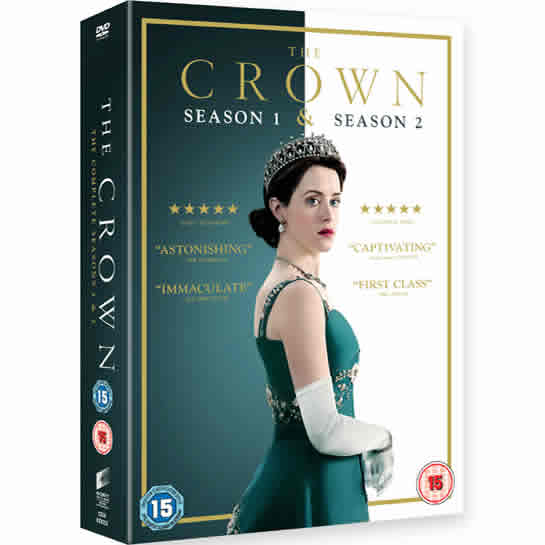 The Crown - The Complete Season 1 and 2 DVD (for NZ Buyers)