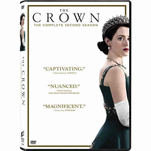 The Crown - The Complete Season Two DVD (for NZ Buyers)
