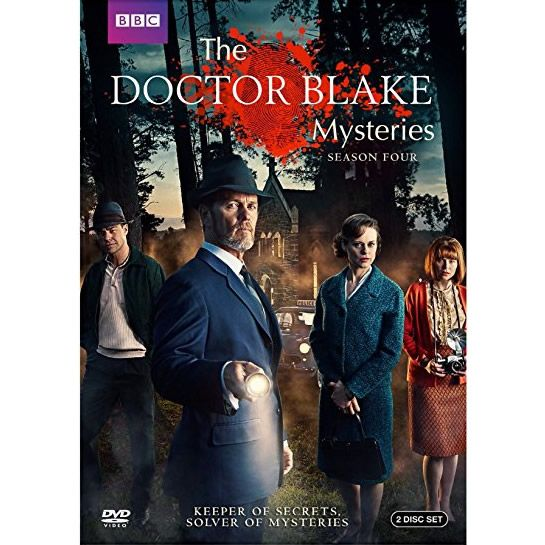 The Doctor Blake Mysteries - The Complete Season 4 DVD (for NZ Buyers)