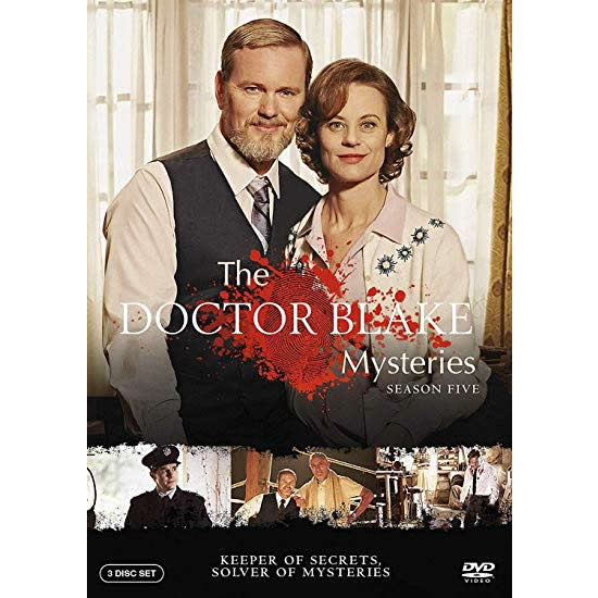 The Doctor Blake Mysteries - The Complete Season 5 DVD (for NZ Buyers)