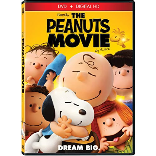 The Peanuts Movie: Animate DVD (for NZ Buyers)