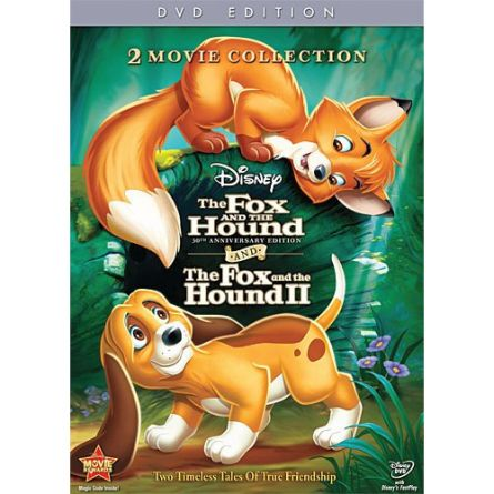 The Fox and the Hound 1 and 2 Collection: Animate DVD (for NZ Buyers)