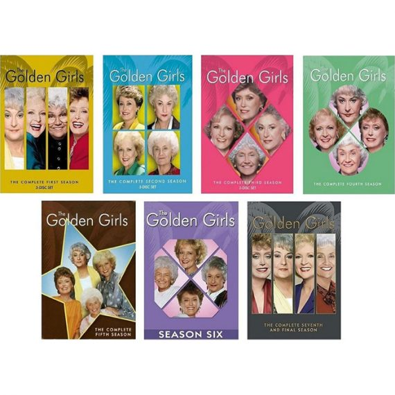 The GOLDEN GIRLS: The Complete Series 1-7 (for NZ Buyers)