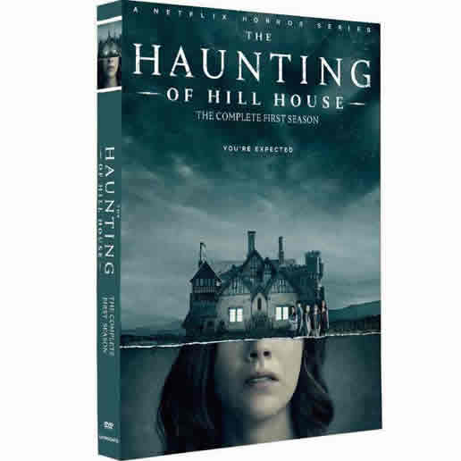 The Haunting of Hill House - The Complete Season 1 DVD (for NZ Buyers)