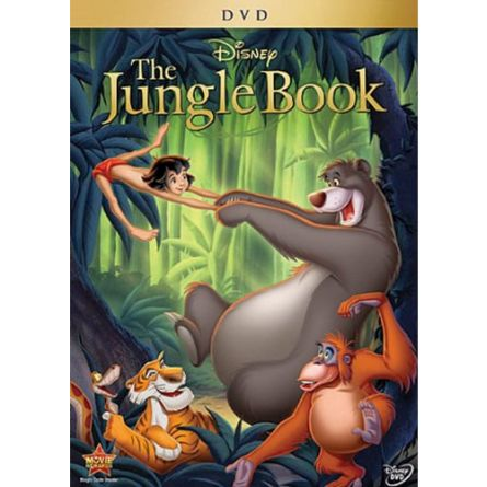 The Jungle Book 1: Animate DVD (for NZ Buyers)
