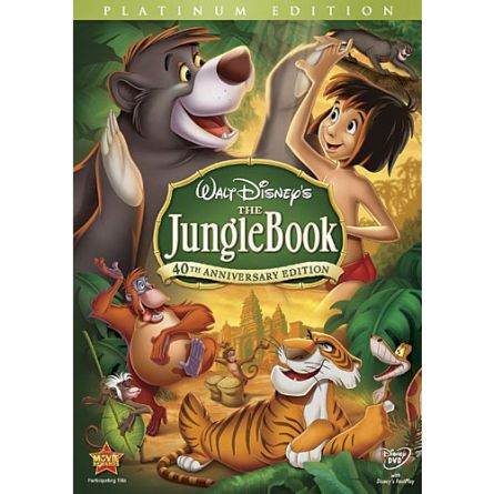 The Jungle Book: Animate DVD (for NZ Buyers)