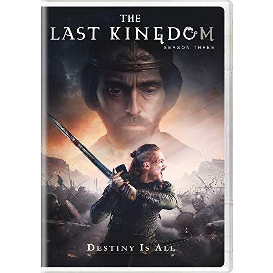 The Last Kingdom - The Complete Season 3 DVD (for NZ Buyers)