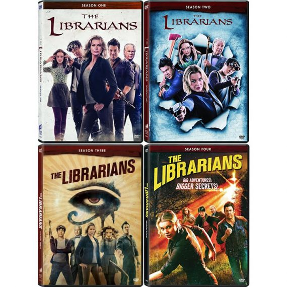 The Librarians: The Complete Series 1-4 (for NZ Buyers)