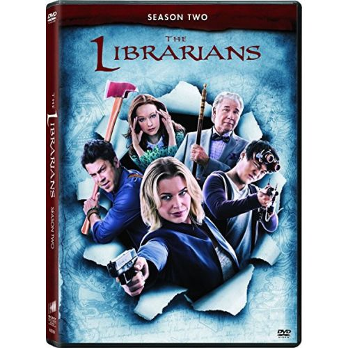 The Librarians - The Complete Season 2 DVD (for NZ Buyers)