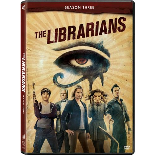The Librarians - The Complete Season 3 DVD (for NZ Buyers)