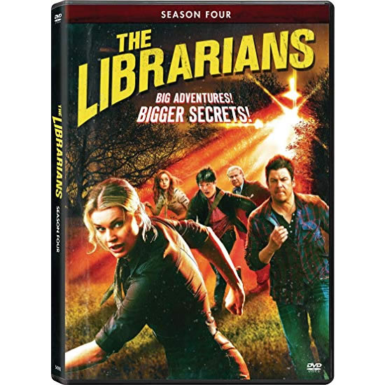 The Librarians - The Complete Season 4 DVD (for NZ Buyers)