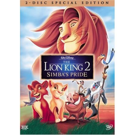 The Lion King 2: Animate DVD (for NZ Buyers)