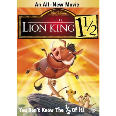 The Lion King 3: Animate DVD (for NZ Buyers)