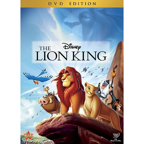 The Lion King: Animate DVD (for NZ Buyers)