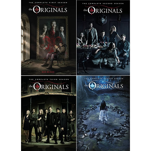 The Originals: The Complete Series 1-4 (for NZ Buyers)