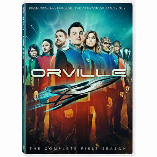 The Orville - The Complete Season 1 DVD (for NZ Buyers)