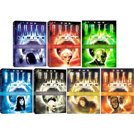 The Outer Limits: The Complete Series 1-7 (for NZ Buyers)
