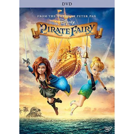 The Pirate Fairy: Animate DVD (for NZ Buyers)