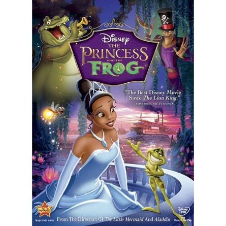 The Princess and the Frog: Animate DVD (for NZ Buyers)