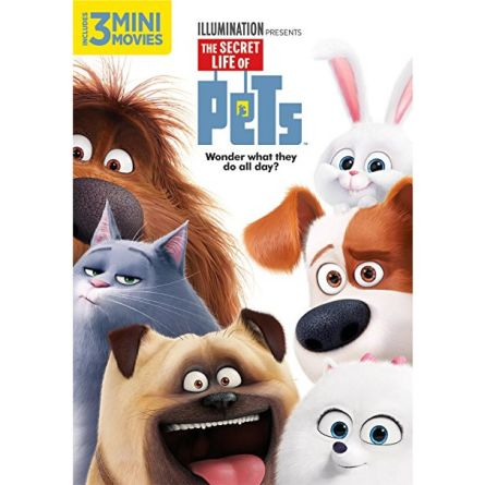 The Secret Life of Pets: Animate DVD (for NZ Buyers)