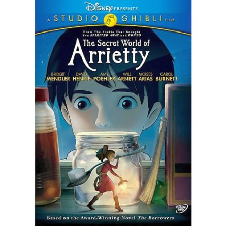The Secret World of Arrietty: Animate DVD (for NZ Buyers)