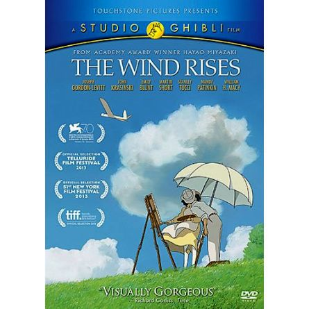 The Wind Rises: Animate DVD (for NZ Buyers)