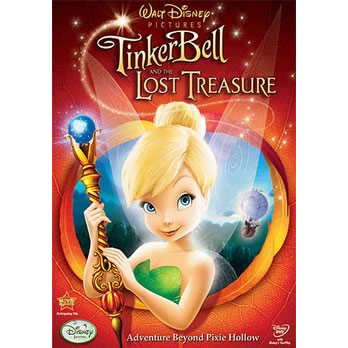 Tinker Bell & The Lost Treasure: Animate DVD (for NZ Buyers)