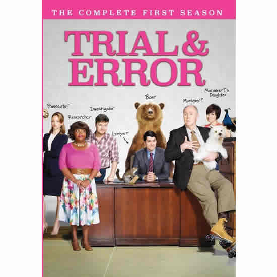 Trial & Error - The Complete Season 1 DVD (for NZ Buyers)